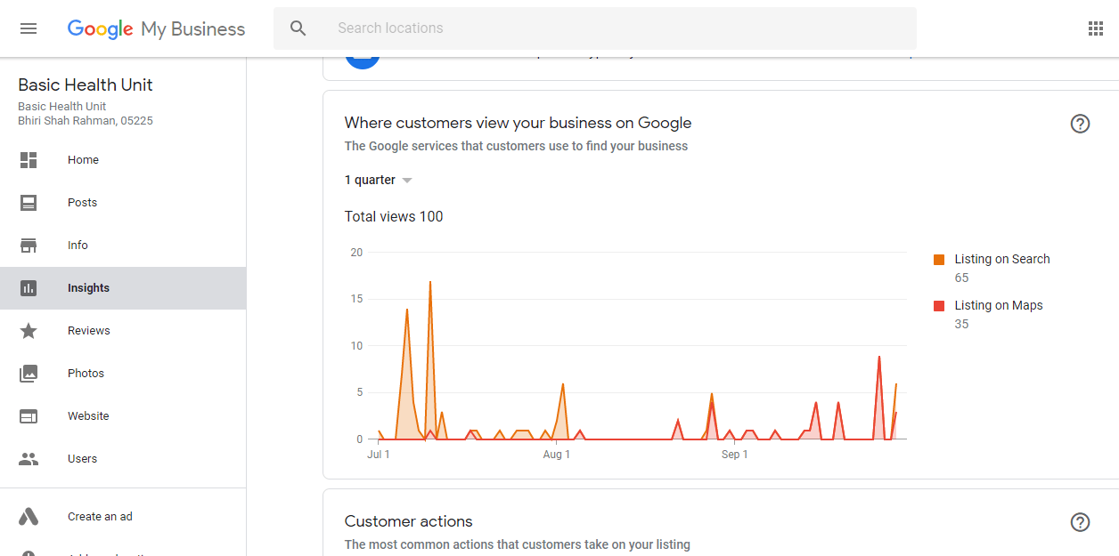 google my business - gmb