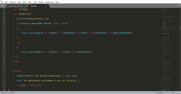 Best Text Editor 2019 - Sublime Text