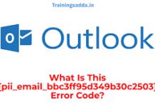 Error Code – pii_email_bbc3ff95d349b30c2503 Fixed