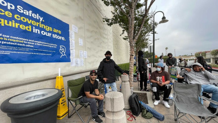 Life in the queue: meet the gamers camping out for an RTX 3080 Ti across the US